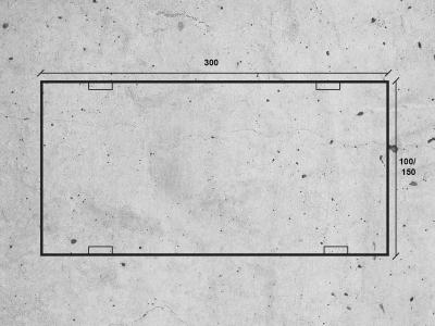 rysunek płyty drogowej mon